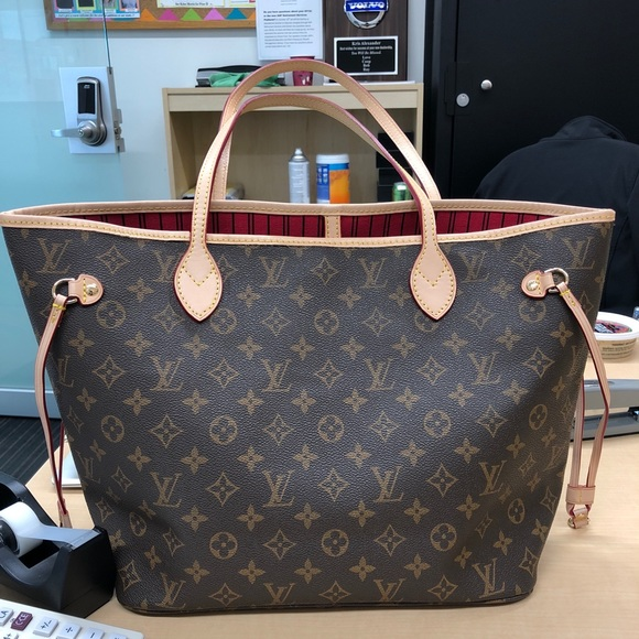 ebedc9be3152 Louis Vuitton Handbags - Louis Vuitton Neverfull made in FRANCE